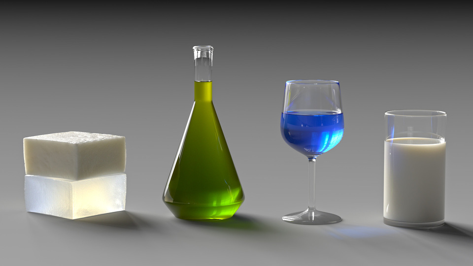 Blender Cycle Renders Glass Texture
